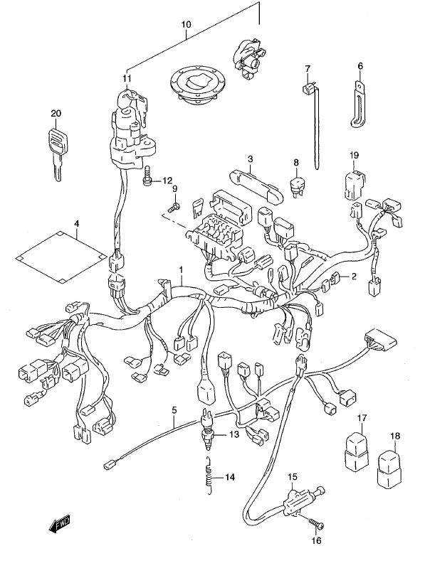 Wiring Harness - ABS