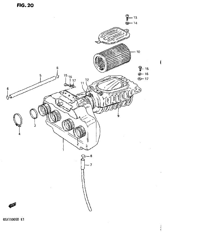 Air Cleaner (Model D)