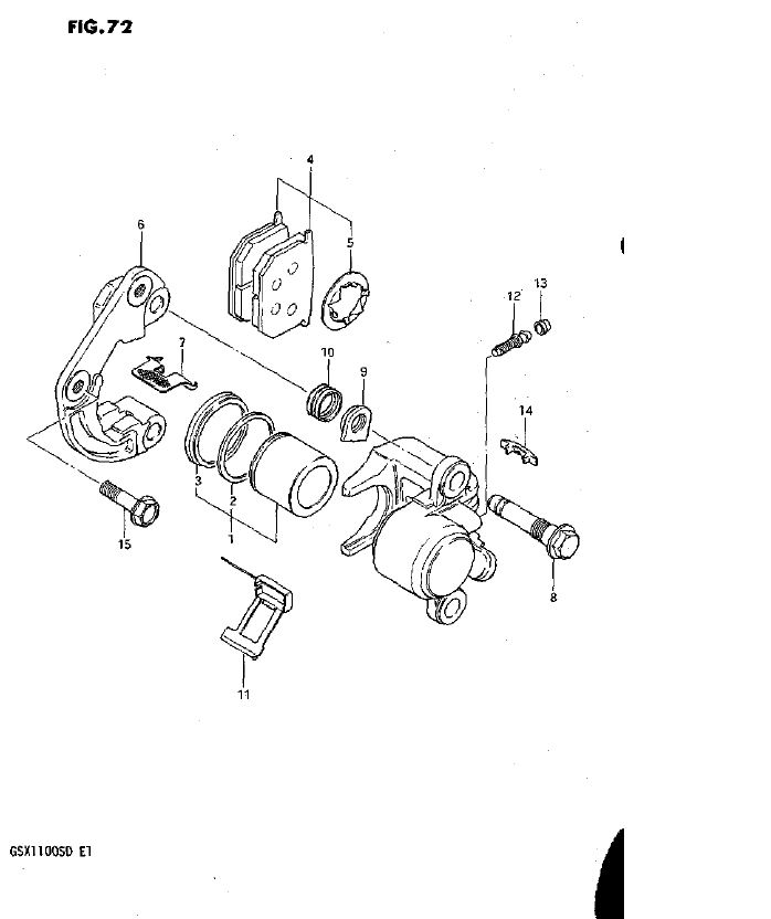 Front Calipers - Model D