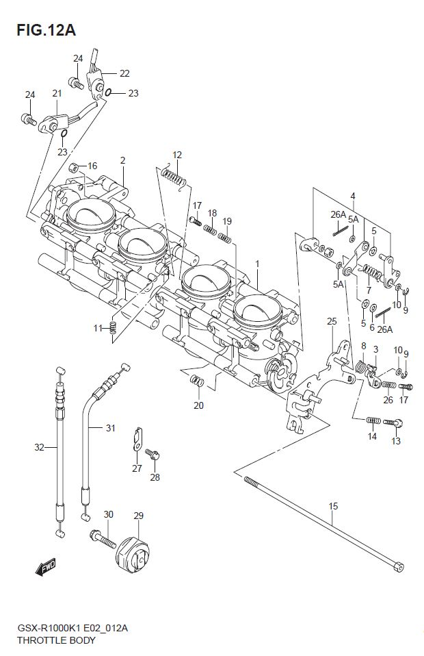 Throttle Body ( Model K2 )