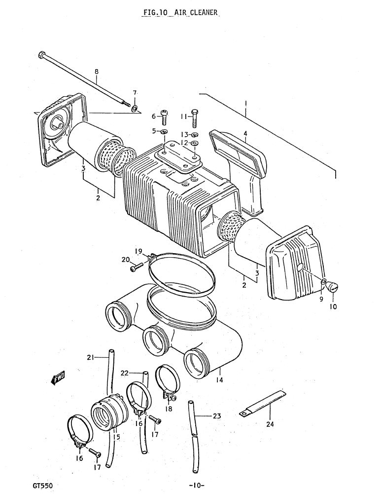 Fig 10 - Air Cleaner