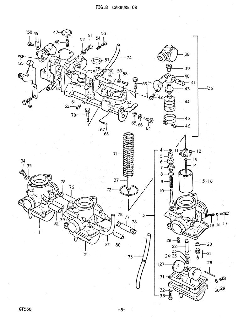 Fig 8 - Carburetor