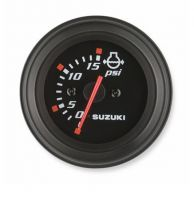 WATER PRESSURE GAUGE - BLACK