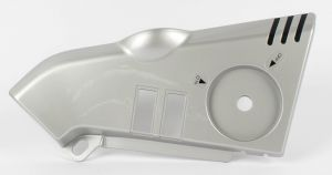 COVER, FRAME LH (SILVER)