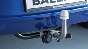 Detachable tow-bar assembly