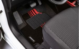 Carpet Mat Set - Red Detailing