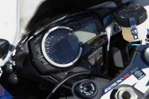 Meter Cover Carbon Look