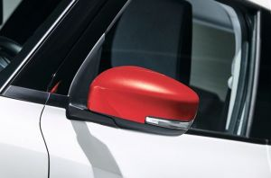 Door Mirror Cover RH (without Turn Signal) - Burning Red