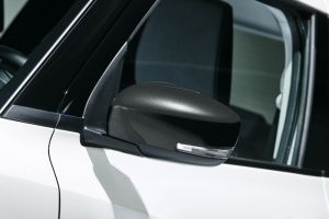 Door Mirror Cover RH (with Turn Signal) - Super Black Pearl Metallic.