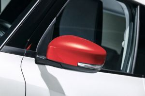 Door Mirror Cover RH (with Turn Signal) - Burning Red