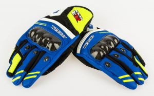 Moto GP Design Riding Gloves - Short