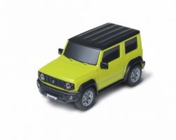 Pull-back Miniature Car - Kinetic Yellow