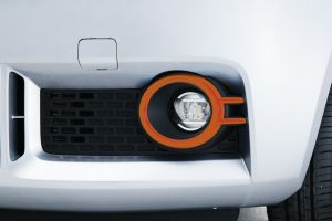 Front Fog Lamp Bezel Set - Orange