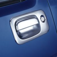 Chromed Door Handle Surround Set