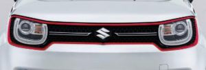 Front Grille Surround - Red