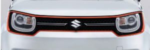 Front Grille Surround - Orange