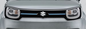Upper Front Grille Centre Bar - Blue
