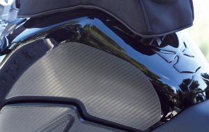 Tank Side Protection Set Carbon Look