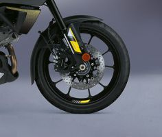Wheel Graphics Kit - Yellow