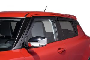 Rain and Wind Deflector Set - Smoked