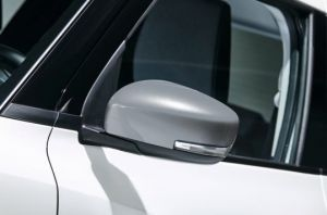 Door Mirror Cover LH (with Turn Signal) - Premium Silver