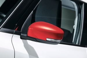 Door Mirror Cover LH (without Turn Signal) - Burning Red