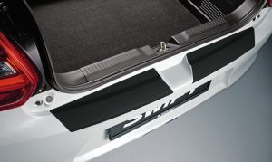 Rear Bumper Protection Sheet - Black