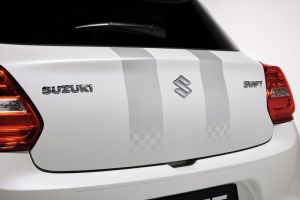 Body Decal Set - Silver