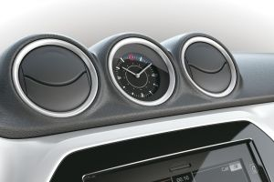 Dashboard Coloured Trim Ring Set White