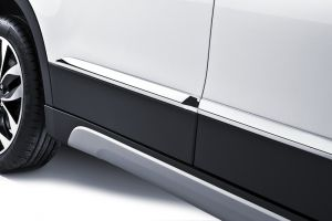 Chromed side body trim set