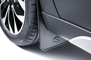 Flexible mudflap set – front