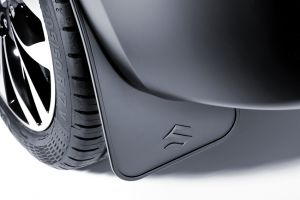 Flexible mudflap set – rear