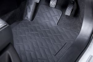 Rubber Mat Set - Black