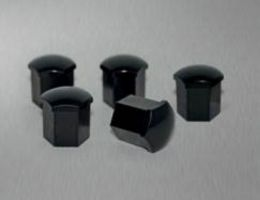 Alloy Wheel Bolt Cover Set - Black