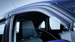 Door visor set - front