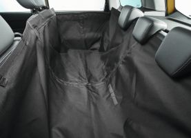 Rear Seat Protective Cover - Black