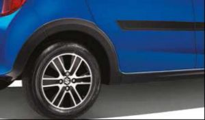 Wheel arch extension set incl side skirts, black