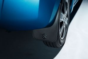 Mudflap set - flexible, rear