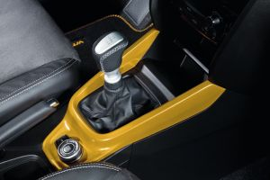 Centre Console Coloured Trim Solar Yellow