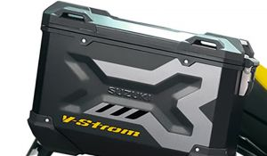 Side Case Graphic Kit - Grey/Yellow