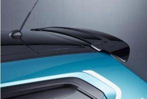 Rear Upper Spoiler- Super Black Pearl Metallic