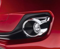 Front Fog Lamp Trim - Chrome