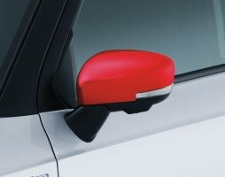 Door Mirror Covers (with Turn Signal) - Red