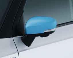 Door Mirror Covers (with Turn Signal) - Blue