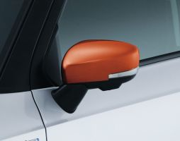 Door Mirror Covers (with Turn Signal) - Orange
