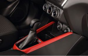 Centre Console Trim - Burning Red