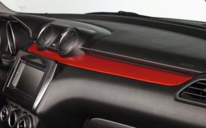Instrument Panel Trim - Burning Red